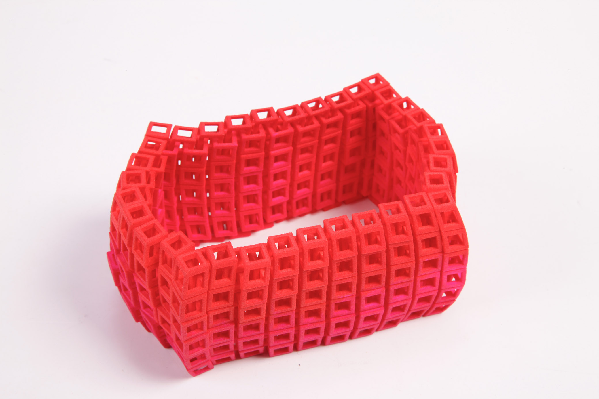 City Block Bracelet SLS Nylon, Ink 70 x 50 mm